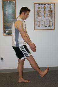 restoring vital energy to ankle, healing ankle